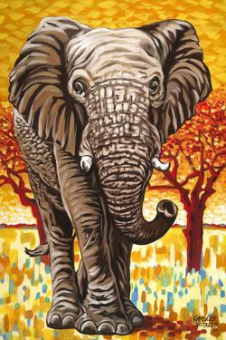 Wild Africa I by Carolee Vitaletti