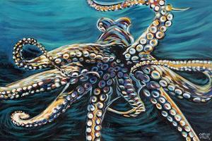 Wild Octopus II by Carolee Vitaletti