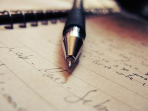 Pen and Letter by Carolina Hernandez