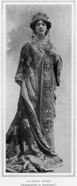 Carolina Otero, the Famous Spanish Dancer, Actress and Courtesan