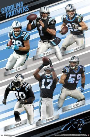 Wholesale Affordable Carolina Panthers Posters for sale at  free shipping