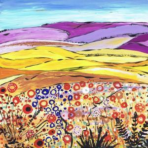 Gold and Lilac by Caroline Duncan