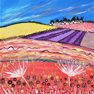 Lavender View by Caroline Duncan