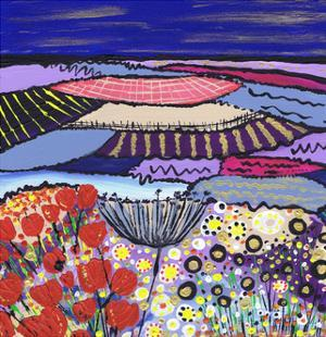 Night Flowers by Caroline Duncan