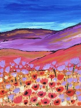 Poppy Fields by Caroline Duncan