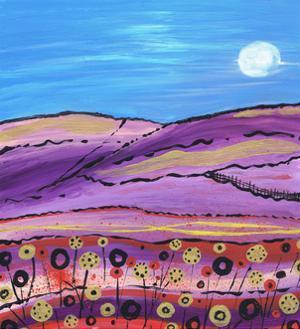 The Lavendar Fields by Caroline Duncan