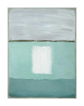 Azure Blue II by Caroline Gold