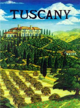 Tuscany Italy by Caroline Haliday