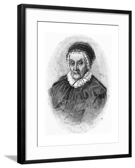 Caroline Herschel--Framed Giclee Print