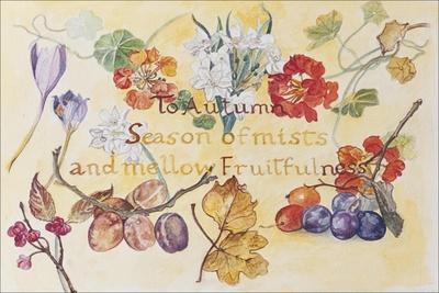 Ode to Autumn Keats, 2008
