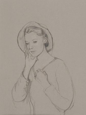 Study for Elizabeth Bennet, 2011