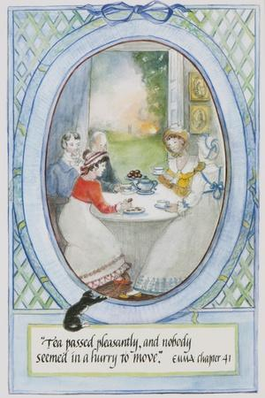'Tea Passed Pleasantly, and Nobody Seemed in a Hurry to Move', 2010