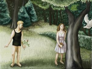 Forest Annunciation, 2, 2006 by Caroline Jennings