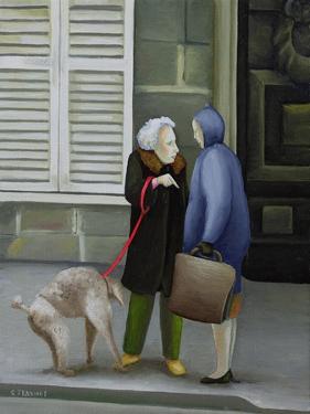 Gossip, Ile St. Louis by Caroline Jennings