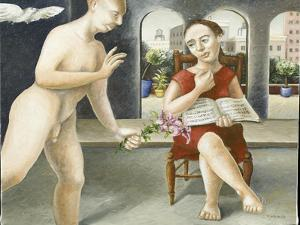 Portico Annunciation, 2005 by Caroline Jennings