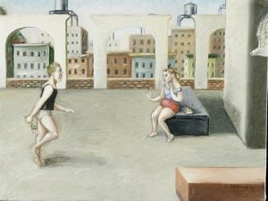 Rooftop Annunciation, 5, 2005 by Caroline Jennings