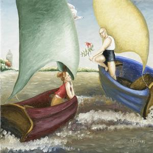 Sea Annunciation, 1 (2006) by Caroline Jennings