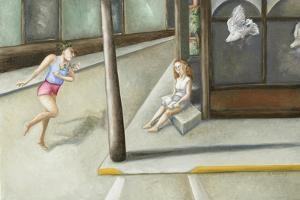 Street Corner Annunciation, 2006 by Caroline Jennings