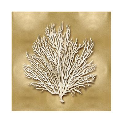 Sea Fan on Gold I by Caroline Kelly