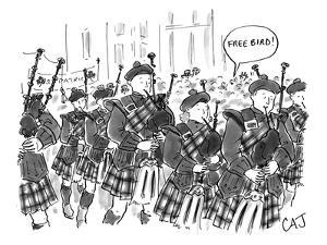 (Free Bird!) - New Yorker Cartoon by Carolita Johnson