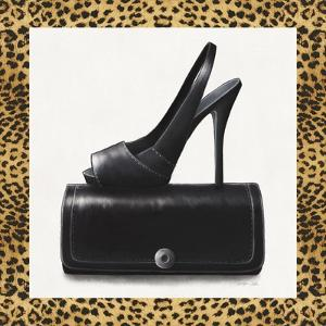 Black Shoe and Purse by Carolyn Fisk