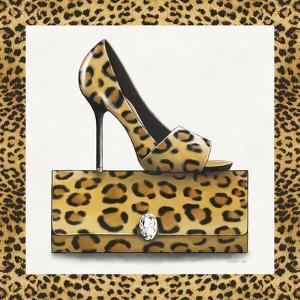 Leopard Shoe and Purse by Carolyn Fisk