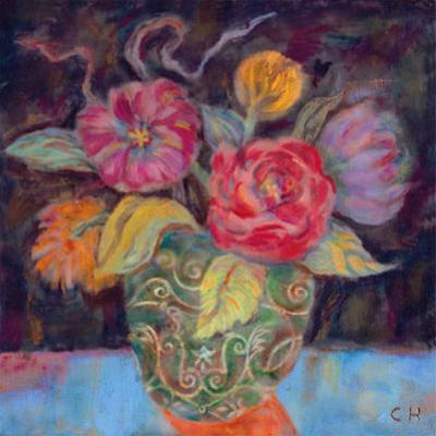 Orange Shadow by Carolyn Holman