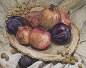 Autumn Fruits, 1992 by Carolyn Hubbard-Ford