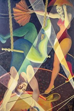 Circus Heights, 2002 by Carolyn Hubbard-Ford