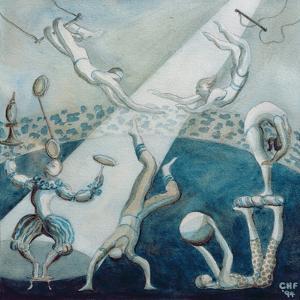 Circus Scene I, 1994 by Carolyn Hubbard-Ford