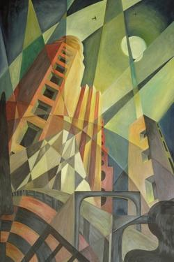 City in Shards of Light by Carolyn Hubbard-Ford