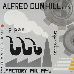 Dunhill Factory, 2013 by Carolyn Hubbard-Ford