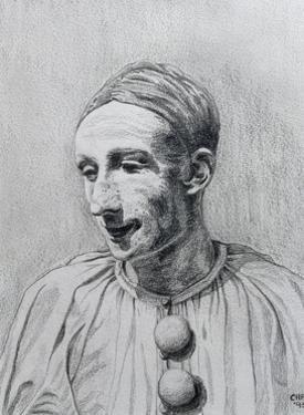 The Clown II, 1995 by Carolyn Hubbard-Ford