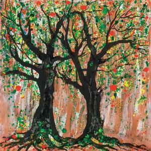 Pomegranate Tree, 2012 by Carolyn Mary Kleefeld
