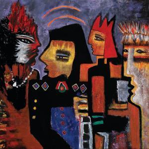 The Mavericks, 2010 by Carolyn Mary Kleefeld