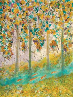Tree Raku, 2000 by Carolyn Mary Kleefeld