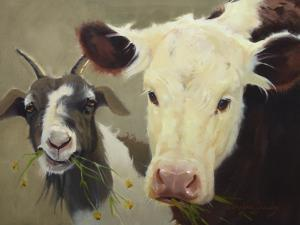 Farm Pals I by Carolyne Hawley
