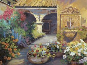 Fontana d'Oro by Carolyne Hawley
