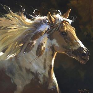 Spirit Horse by Carolyne Hawley