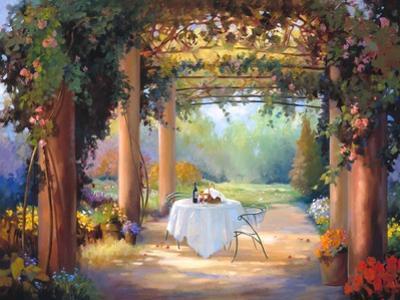 Vino al Fresco by Carolyne Hawley