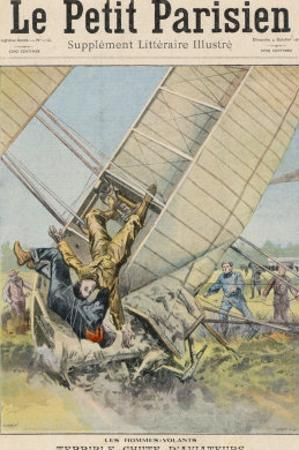 Orville Wright Crashes at Fort Meyer Usa