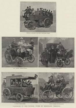 Carriages of the Future, Types of the Horseless Vehicles