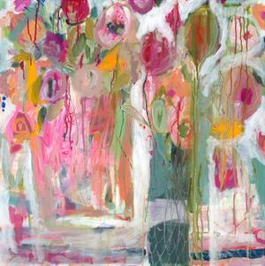 Pink Melody by Carrie Schmitt