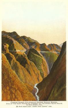 Carrizo Gorge, San Diego County, California