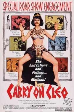 Carry on Cleo, Center: Amanda Barrie, 1964