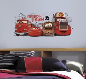 Cars 2 - Friends to the Finish Peel and Stick Giant Wall Decals