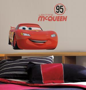 Cars - Lightning McQueen Number 95 Peel and Stick Giant Wall Decals