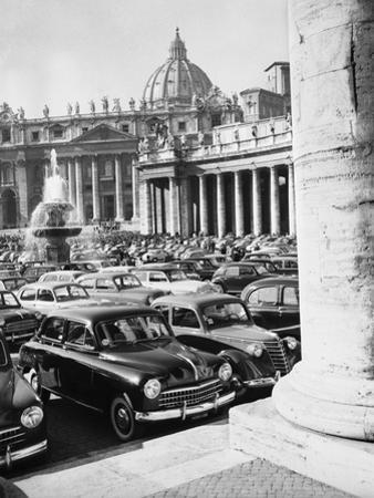 Cars Parking for Vatican Visit