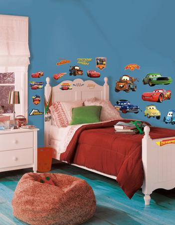 Cars - Piston Cup Champs Peel & Stick Wall Decals