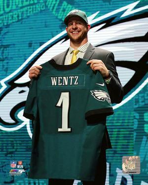 Carson Wentz 2016 NFL Draft #2 Draft Pick